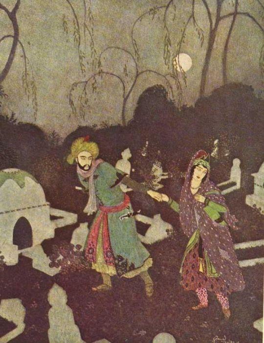 Рисунок Эдмунда Дюлака.