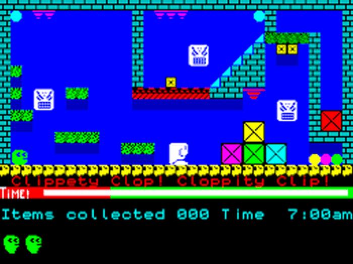 Третья игра Смита для Spectrum.