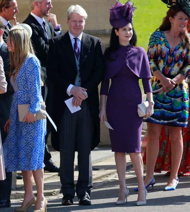 Чарльз Эдвард Морис Спенсер, 9-й граф Спенсер, 54-летний брат принцессы Дианы со своей женой Карен Вильнев.