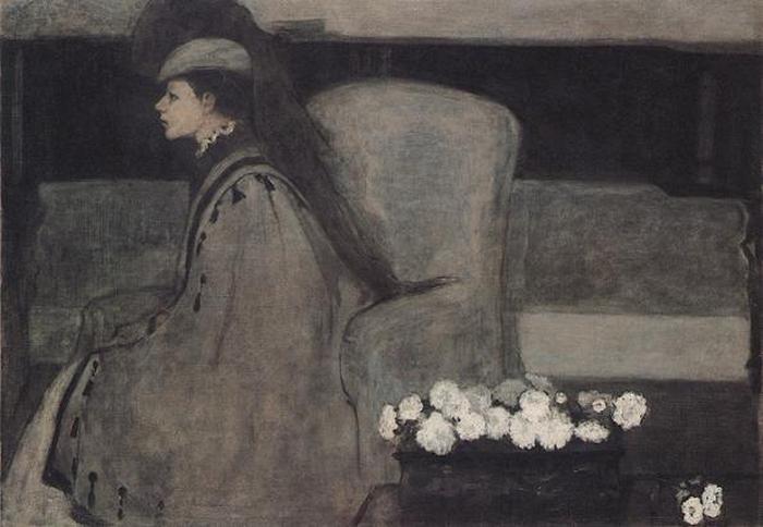Ромейн Брукс. Тишина. 1910 г.