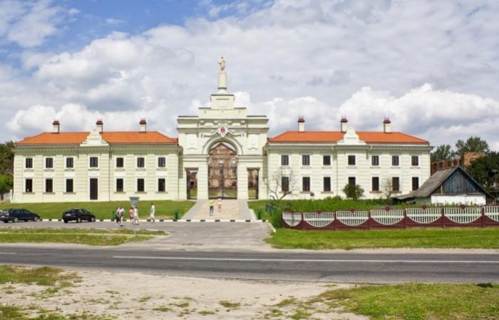 Ружанский дворец сегодня.