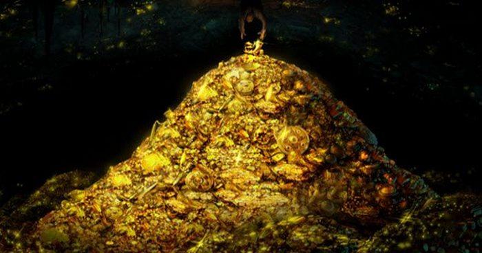 Золото Лланганата - золото испанских конкистадоров.