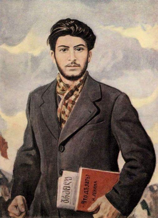 Семинарист Джугашвили.