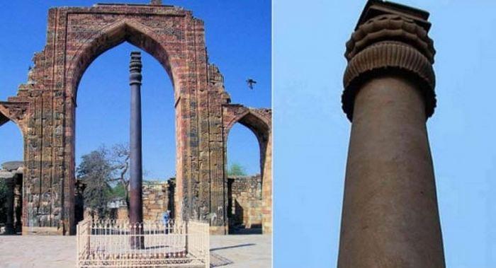 Железная колонна в Дели.