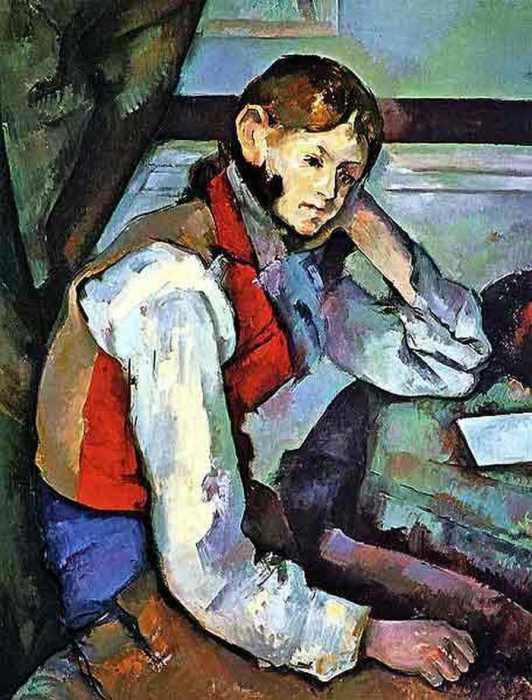 «Мальчик в красном жилете» (1895)