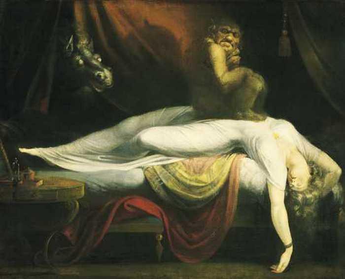«Ночной кошмар». Генри Фюзели