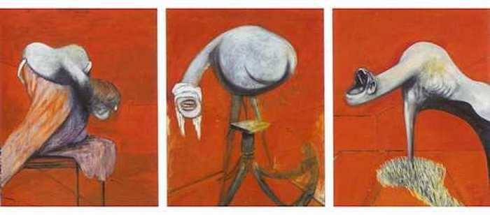«Три этюда к фигурам у подножия распятия». Фрэнсис Бэкон.