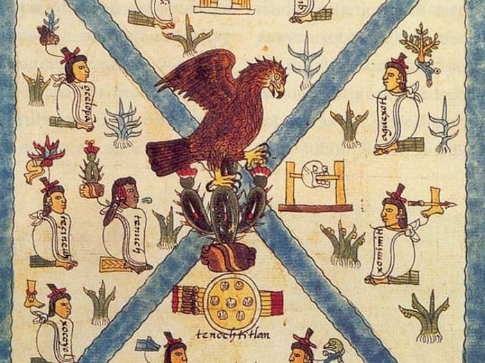 Кодекс Мендоса - иллюстрированный кодекс ацтеков.