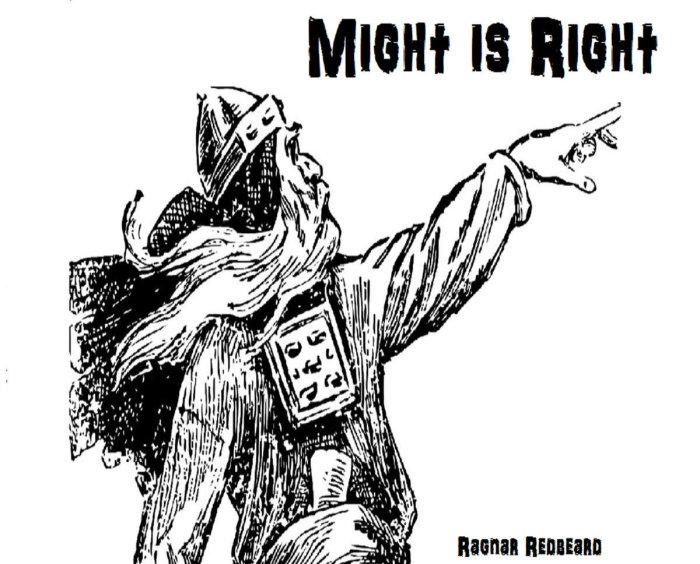 «Сила есть право» - книга, которая запрещена и сегодня.