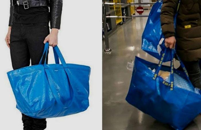 Сумка IKEA от Balenciaga