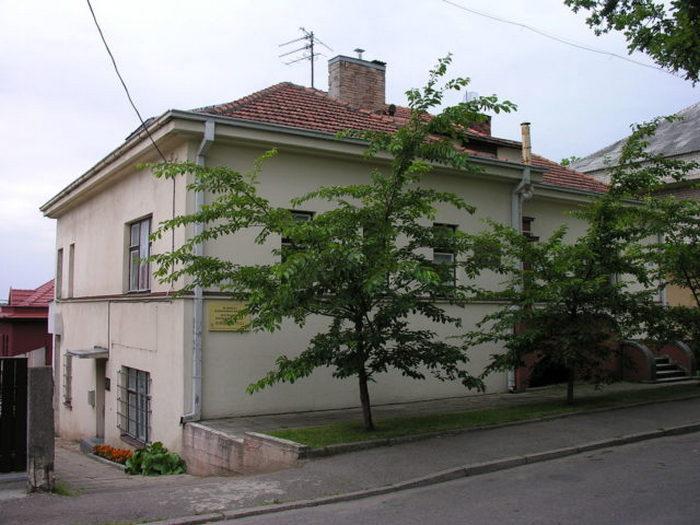 Здание бывшего японского консульства в Каунасе.
