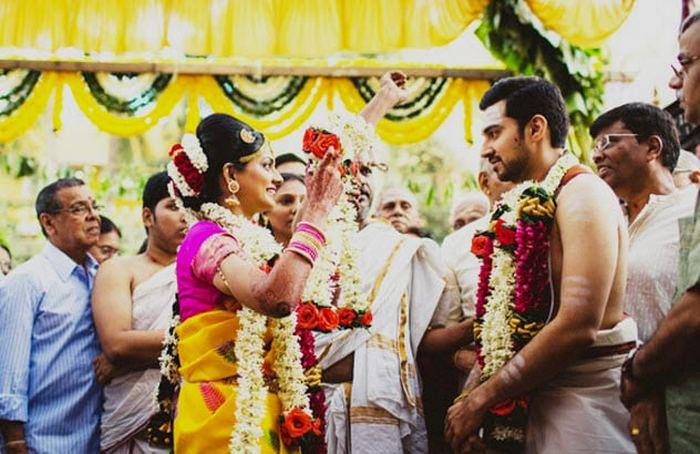 Свадебные традиции тамильских браминов.