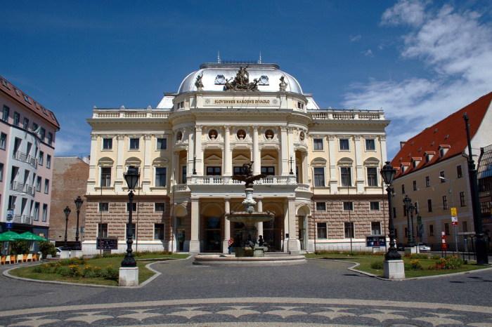 Национальный театр Словакии.