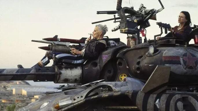 Кадр из фильма «Танкистка»