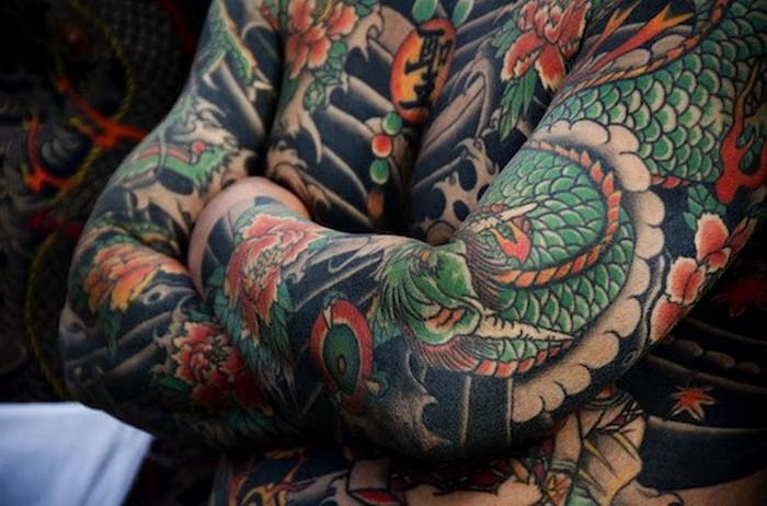 Японские татуировки.
