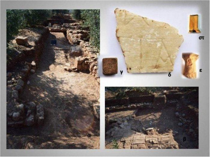 Место раскопок Тенеа.