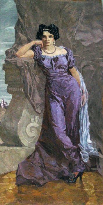 Графиня Аграфена Фёдоровна Закревская, урождённая графиня Толстая
