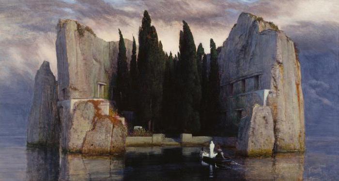 «Остров мертвых» Арнольда Бёклина