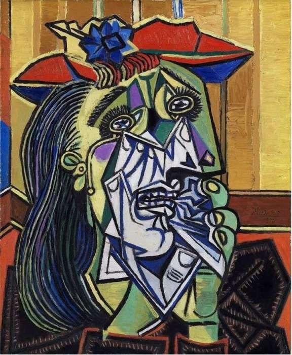 «Плачущая женщина» Пикассо