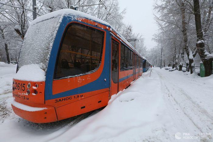 Бесплатный проезд в трамвае на день - приятный бонус для горожан.