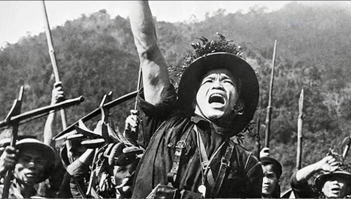 Страшные годы вьетнамской войны.