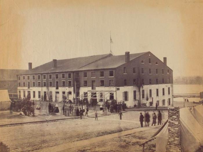 Тюрьма Либби. Ричмонд, Вирджиния, 1864