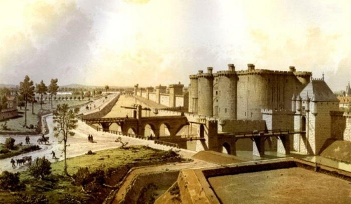 Бастилия. Париж, Франция, 1465