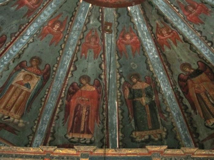 Небо Успенского храма.
