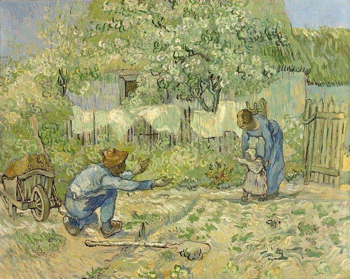Одна из первых работ Ван Гога.