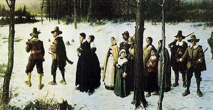 Пуритане идут в церковь - картина, которая изменила Ван Гога.