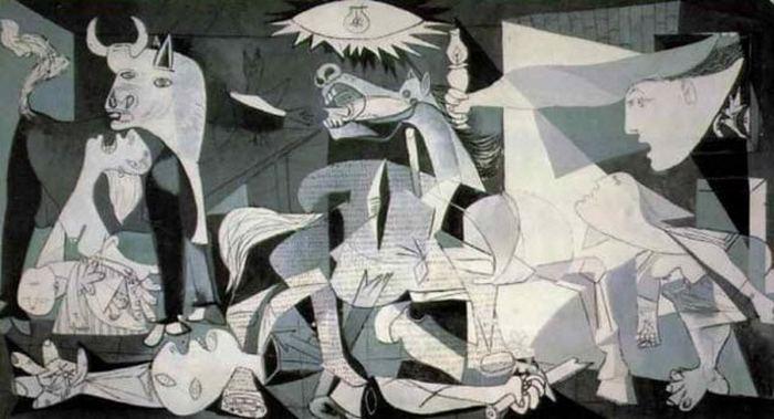 Герника. Пабло Пикассо.