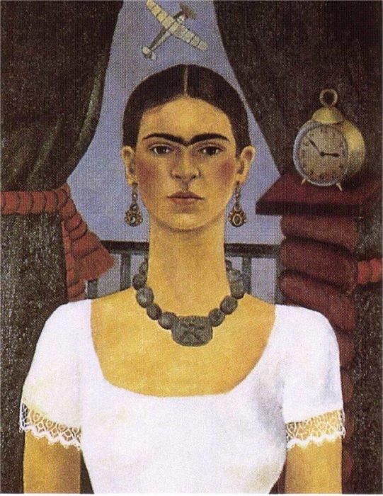 «Автопортрет». Фрида Кало