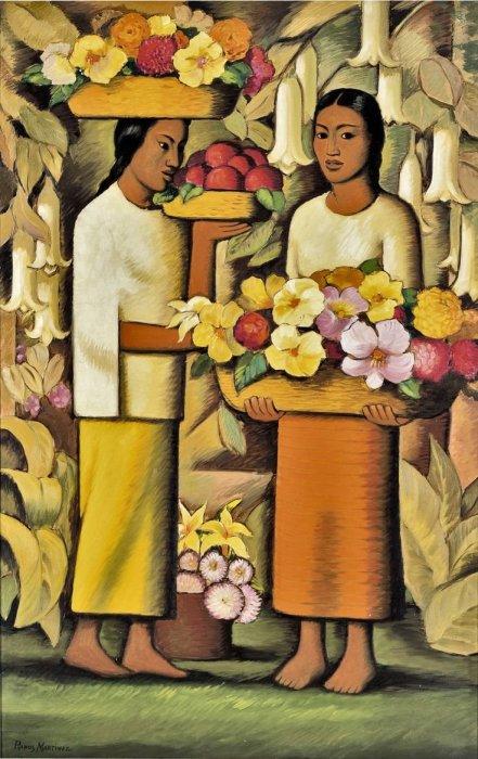 «Цветы Мексики». Альфредо Рамос Мартинес