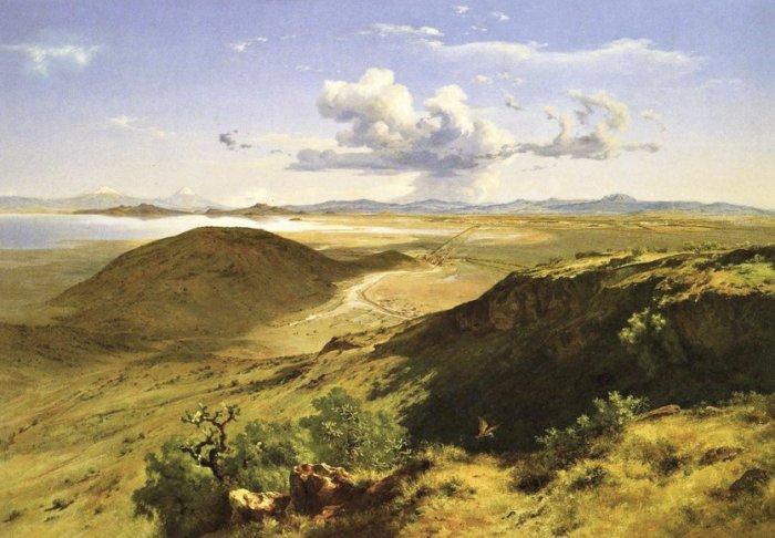 «Долины Мексики». Хосе Мария Веласко
