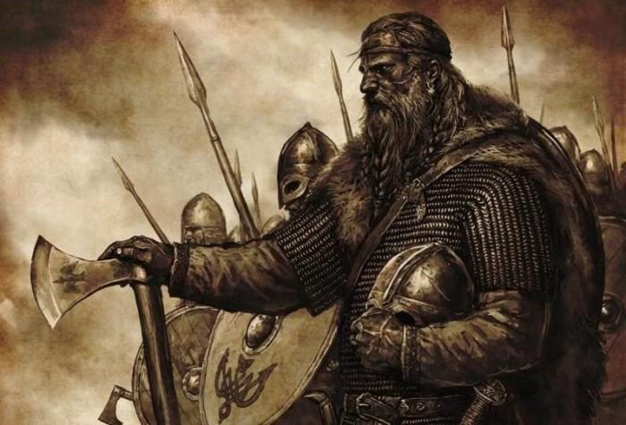 Викинги - суровые мореходы и воины.