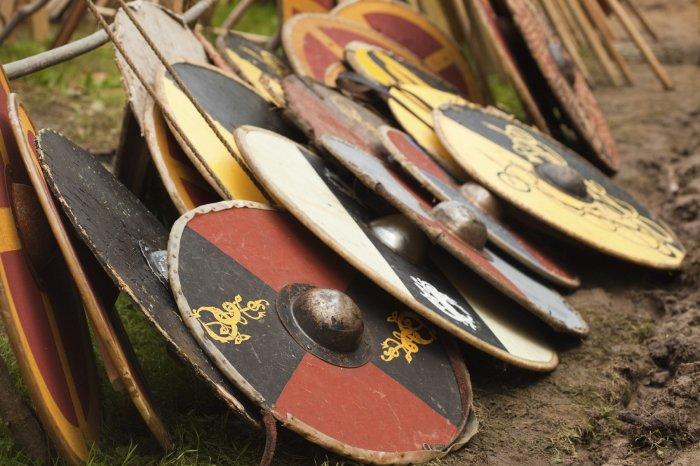 Щиты викингов.