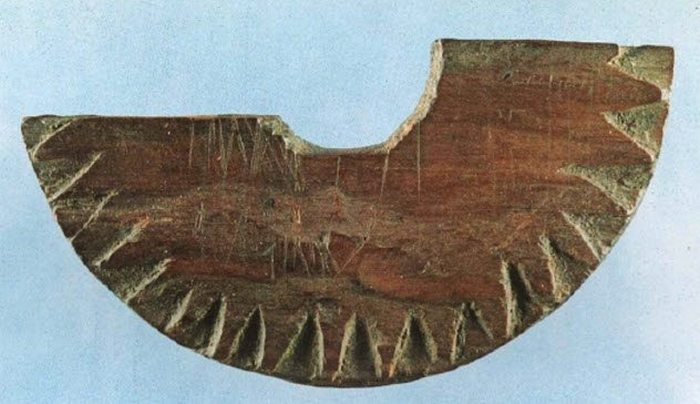 Солнечный компас викингов.