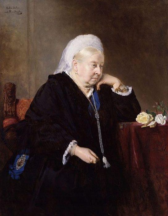 80-летняя королева Виктория, 1899 г.