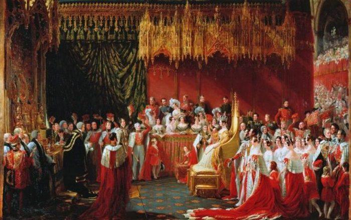 Коронация Виктории, художник Джордж Хейтер