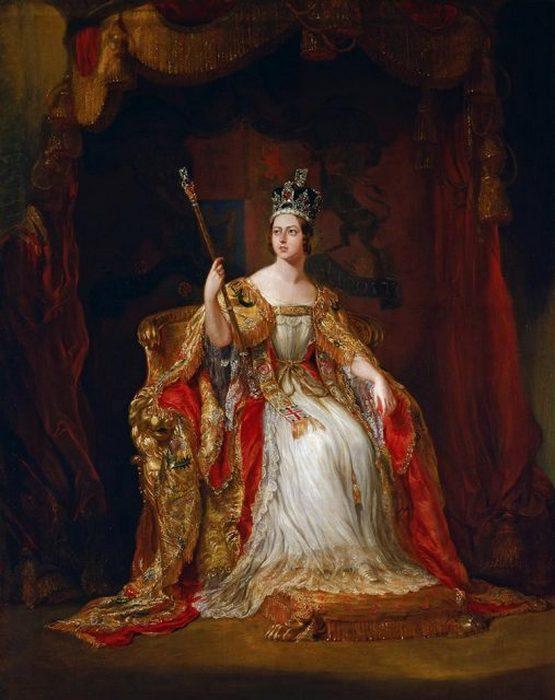 Коронационный портрет сэра Джорджа Хейтера