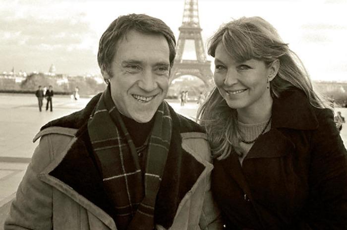Владимир Высоцкий и Марина Влади в Париже.