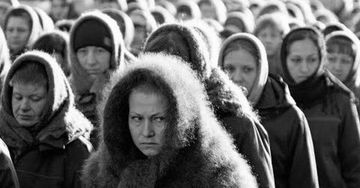 Женщины в колонии.