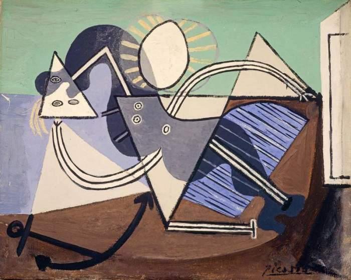 Пабло Пикассо. Женщина на пляже