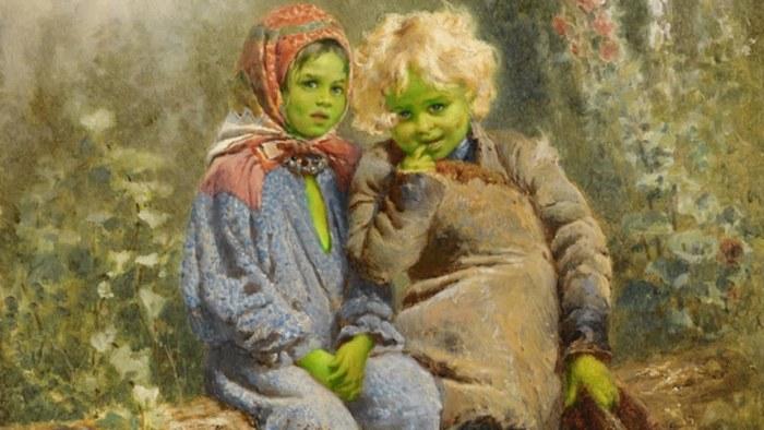 Зелёные дети Вулпита.