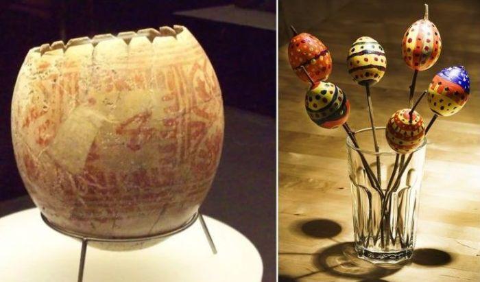 Как в XIII веке появился христианский обычай раскрашивать пасхальные яйца.