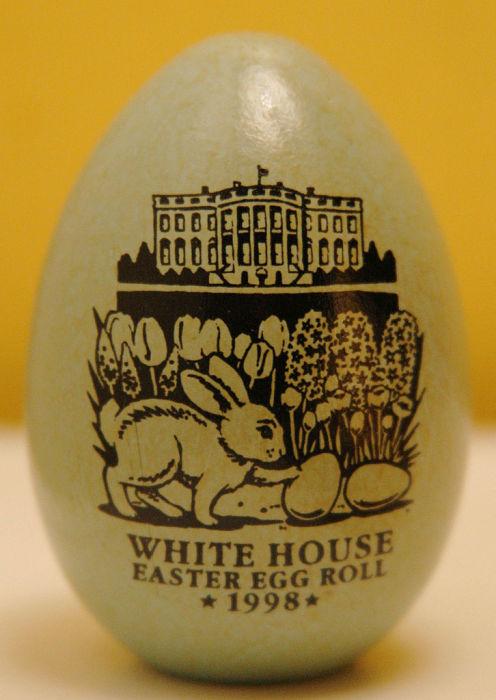 Пасхальное яйцо из Белого дома, США.