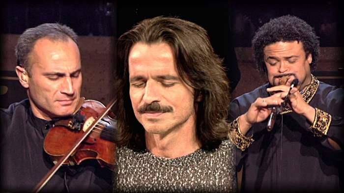 Армянский дудук на концерте несравненного Yanni.