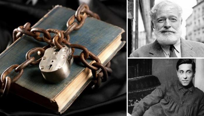 Книги, попадавшие под запрет, пытались найти всеми правдами и неправдами.