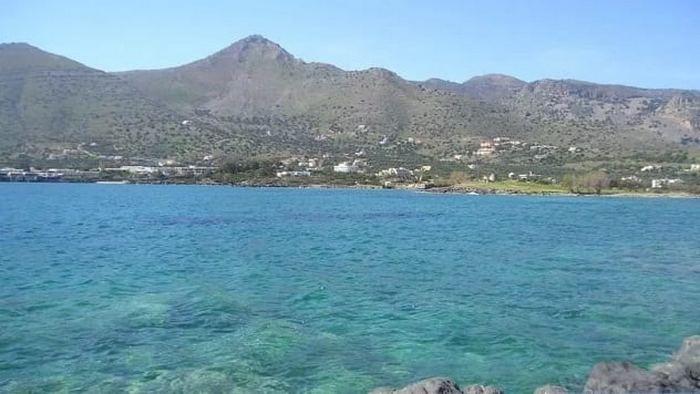 Олус - где-то у берегов Крита.