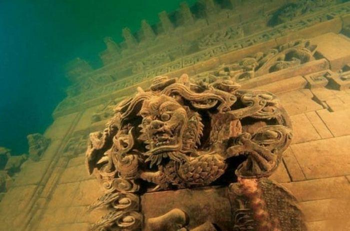 Город льва в Китае.